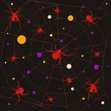 Het patroon van de spin Royalty-vrije Stock Afbeelding