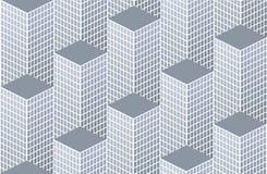 Het patroon van de stad Stock Foto