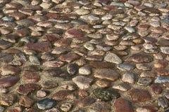Het Patroon van de steenbestrating Stock Afbeelding