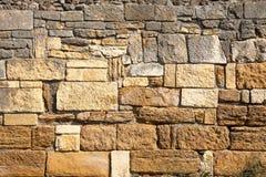 Het Patroon van de steenmuur stock afbeelding