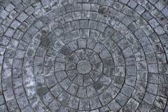 Het patroon van de steenvloer Stock Foto