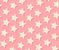 Het patroon van de ster Stock Foto's