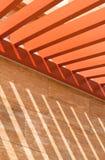 Het Patroon van de Straal van het dak Stock Foto's