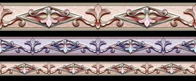 Het patroon van de streep Stock Foto's