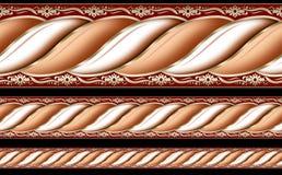 Het patroon van de streep Royalty-vrije Stock Fotografie
