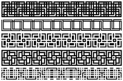 Het patroon van de streep. Royalty-vrije Stock Fotografie