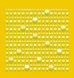 Het patroon van de tulp Stock Foto