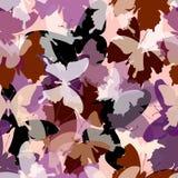 Het patroon van de vlinder royalty-vrije illustratie