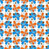 Het patroon van de vlinder stock illustratie