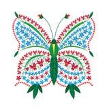Het patroon van de vlinder Royalty-vrije Stock Foto's
