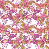 Het patroon van de vlinder Royalty-vrije Stock Foto
