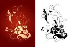 Het patroon van de vogel Stock Afbeeldingen