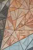 Het Patroon van de Voorzijde van de bouw Royalty-vrije Stock Afbeelding