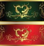 Het Patroon van de Vorm van het hart Royalty-vrije Stock Foto