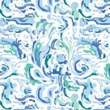 Het Patroon van de waterplons Royalty-vrije Stock Afbeeldingen
