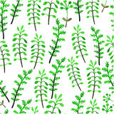 Het patroon van de waterverfbloem Royalty-vrije Stock Afbeeldingen