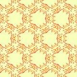 Het patroon van de waterverfbloem Stock Afbeelding