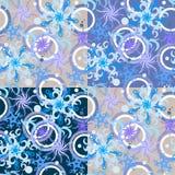 Het patroon van de winter Royalty-vrije Stock Afbeeldingen