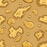 Het patroon van de woestijngrond Stock Foto's