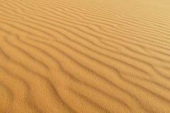 Het patroon van de zandwoestijn royalty-vrije stock foto's