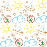 Het Patroon van de zomer vector illustratie
