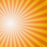 Het Patroon van de zonzonnestraal Vector illustratie Stock Foto