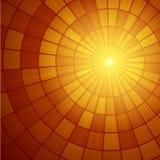 Het Patroon van de zonzonnestraal Vector illustratie Stock Afbeeldingen
