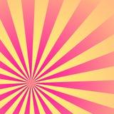 Het Patroon van de zonzonnestraal Vector illustratie Stock Foto's