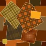 Het patroon van Deamless van dekbedlapwerk vector illustratie