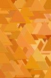 Het patroon van driehoeken Stock Afbeeldingen
