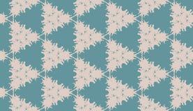 Het patroon van driehoeken vat grijs en aqua samen Royalty-vrije Stock Foto's