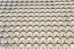 Het patroon van glasvensters Stock Foto's