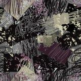 Het patroon van Grunge vector illustratie