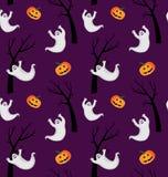 Het patroon van Halloween royalty-vrije illustratie