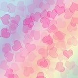 Het Patroon van harten Stock Foto