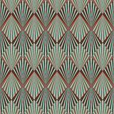 Het patroon van het art deco royalty-vrije illustratie