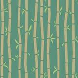 Het patroon van het bamboe Stock Afbeeldingen