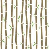 Het patroon van het bamboe Stock Fotografie