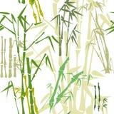 Het patroon van het bamboe (achtergrond) Royalty-vrije Stock Foto's