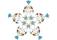 Het patroon van het behang royalty-vrije illustratie