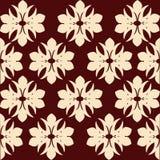 Het Patroon van het behang - Vector royalty-vrije illustratie