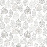 Het patroon van het blad royalty-vrije illustratie