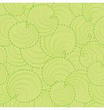 Het Patroon van het Blad van de cirkel Stock Afbeelding