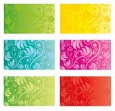Het patroon van het bloembehang Stock Afbeeldingen