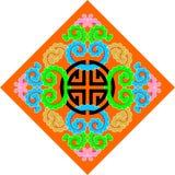 Het patroon van het boeddhisme Royalty-vrije Illustratie