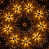 Het patroon van het brons Stock Afbeeldingen