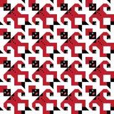 Het Patroon van het Cijfer van Tesselating Stock Foto's