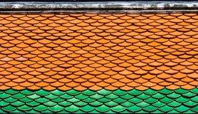 Het patroon van het dak Stock Foto
