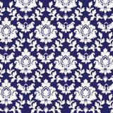 Het patroon van het damast Royalty-vrije Stock Foto