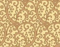 Het patroon van het decor royalty-vrije illustratie